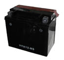 4-Stroke 12v, 12ah Acid Battery Short Version