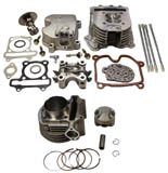 gy6 150cc 4-valve head kit