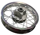 dirt bike 12 in alloy rear disc rim 58mm