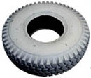 3.0-4 knobby tire, gray, now marking tire
