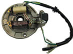 2-coil stator, 5-loose wire, 50-125cc horizontal motor