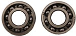 2.8 hp 97cc crank bearing set
