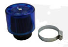 44mm intake blue shield air filter