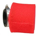 44mm red foam air filter