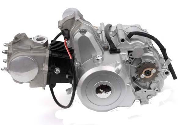 4-stroke motor Parts 50cc horizontal motor