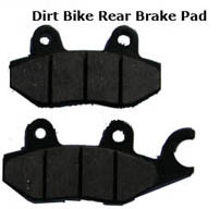 how to change rear brake pads on dirt bike