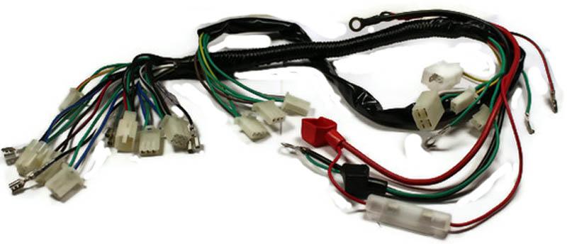 50cc 70cc atv wire harness 1 24 50cc hummer atv wire harness gy6 motor version